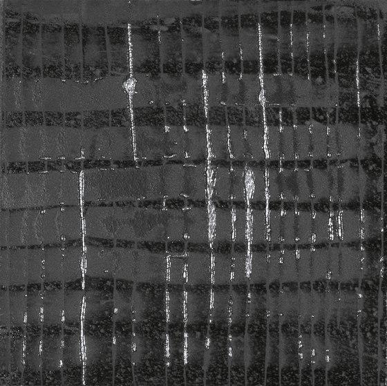 L'H Nero Raku di EMILGROUP | Piastrelle ceramica