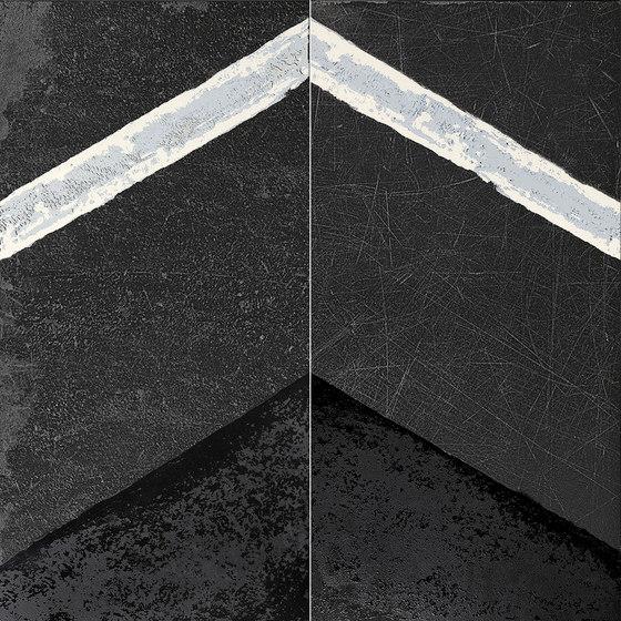 L'H Nero Glassa von EMILGROUP | Keramik Fliesen