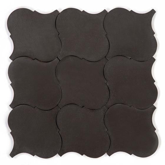 Arabesque - Black von Granada Tile | Keramik Fliesen