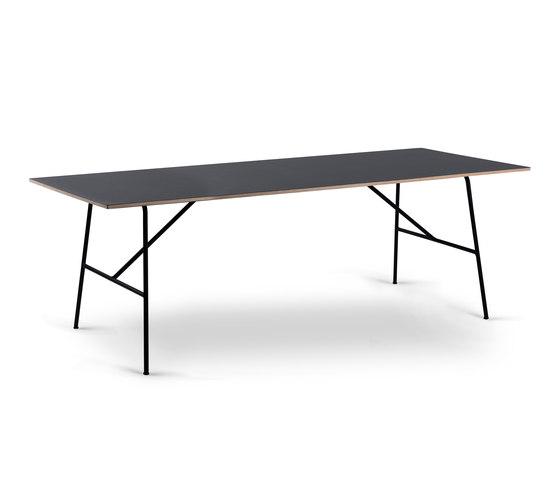 Sincera Table 210 black von Bent Hansen | Esstische