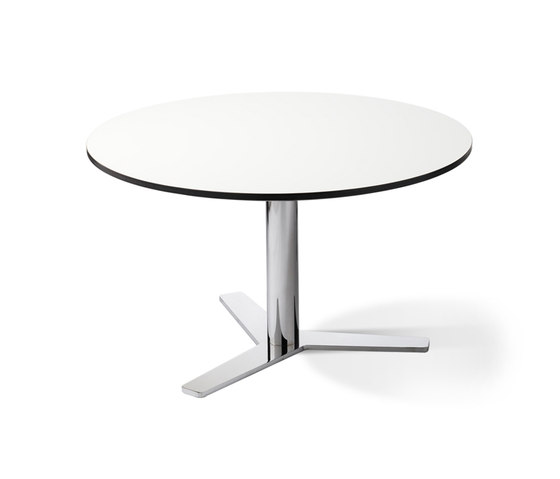 B-53 round by Balzar Beskow | Contract tables