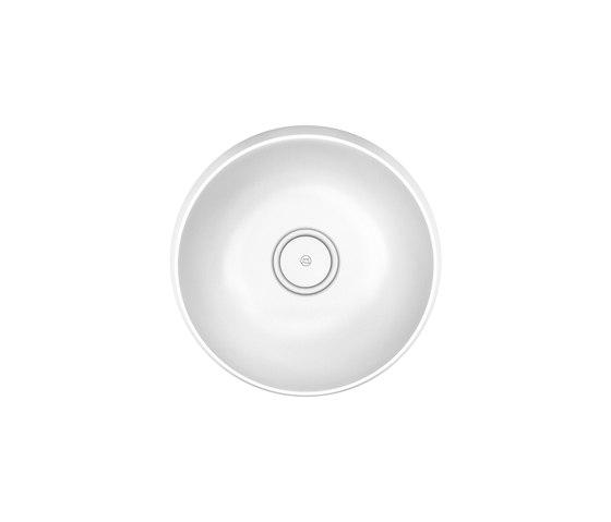 Junit | Mineral cast washbasin incl. vanity unit di burgbad | Mobili lavabo