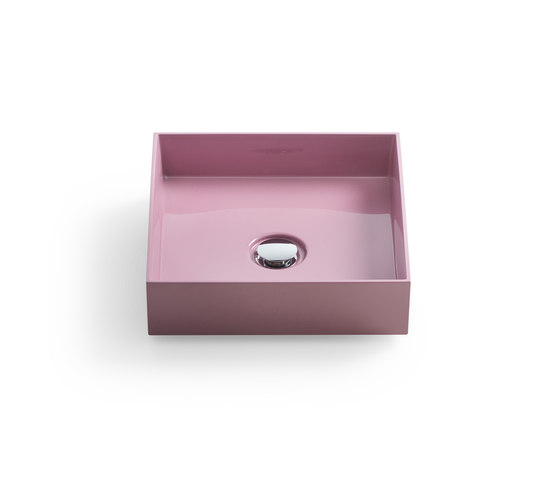 rc40 | Mineral cast washbasin sit on vessel di burgbad | Lavabi / Lavandini