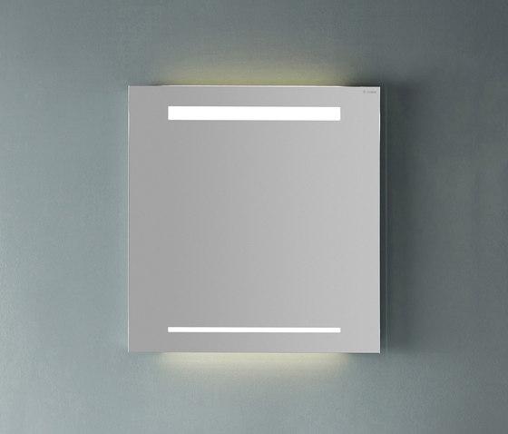 Yumo | Illuminated mirror by burgbad | Wall mirrors