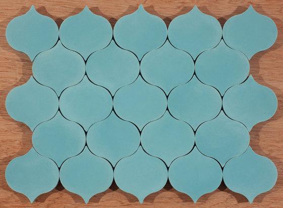 Droplet-aqua by Granada Tile   Concrete tiles
