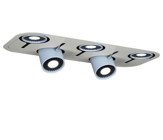 Phiole F di LUG Light Factory | Lampade soffitto incasso