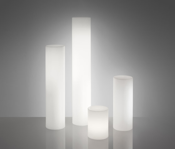 Fluo by Slide | Free-standing lights