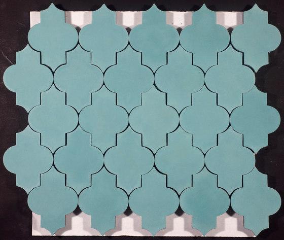 Trellis-aqua de Granada Tile | Baldosas de hormigón