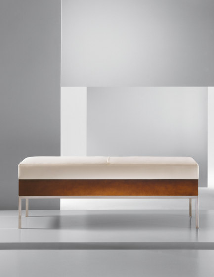 Alia | Metal Bench by Cumberland Furniture | Waiting area benches