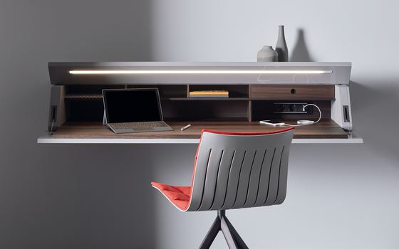 GHOSTWRITER by Acerbis | Wall shelves