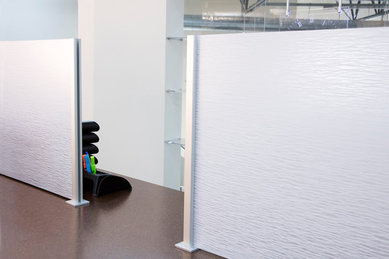 Square Extrusion & Baseplates by Gyford StandOff Systems® | Wall partition systems