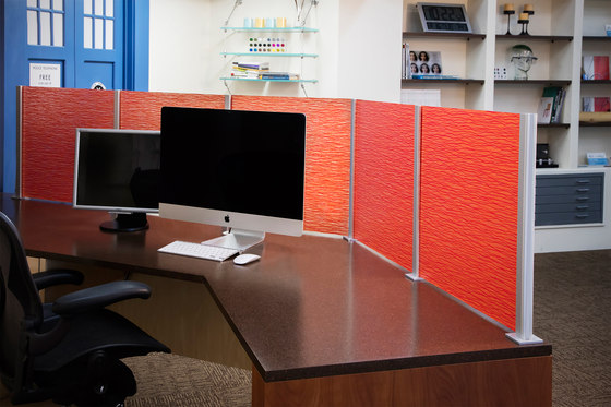 Square Extrusion Dividers by Gyford StandOff Systems® | Wall partition systems