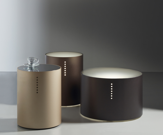 SETTE MAGIE low tables by Acerbis | Side tables