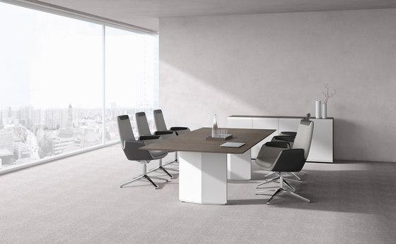 Pace meeting table de RENZ | Mesas contract