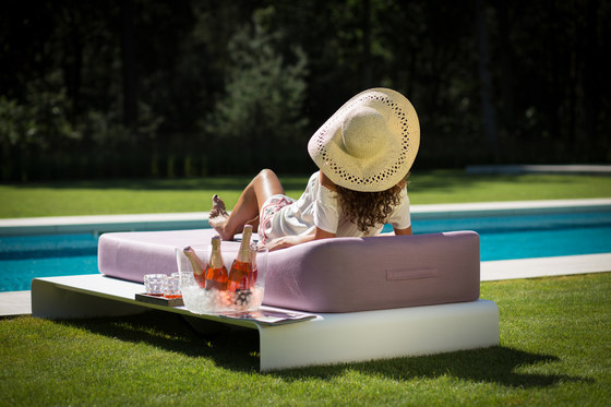 Lucille | daybed by Mr Blue Sky | Sun loungers