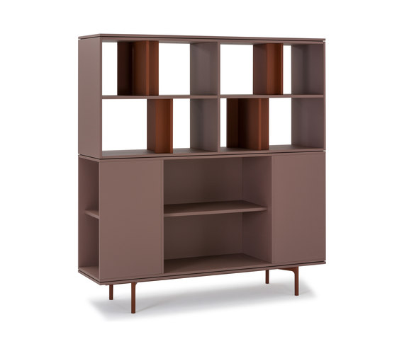 Be Hold by Haworth | Office shelving systems