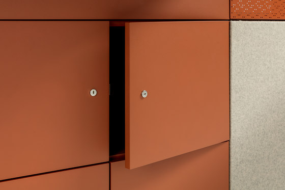 Be Hold by Haworth | AV cabinets