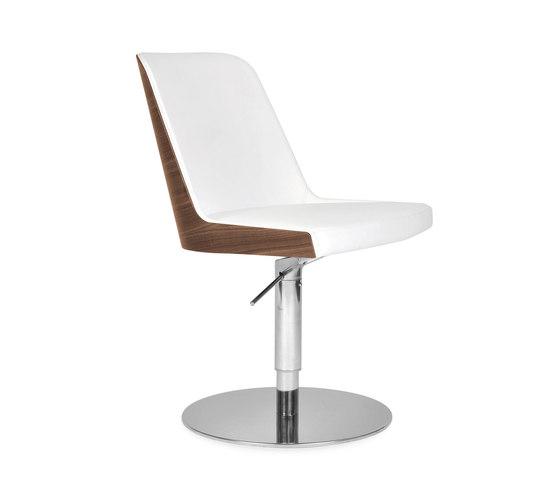 Marlene 100w round de Riccardo Rivoli Design   Sièges visiteurs / d'appoint