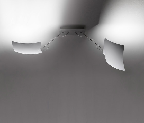 2 x 18 x 18 von Ingo Maurer | Deckenleuchten