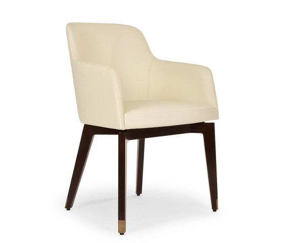 Marlene 200 wood de Riccardo Rivoli Design | Chaises