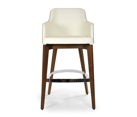 Marlene barstool 200w wood by Riccardo Rivoli Design | Bar stools