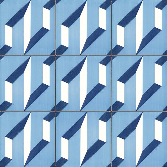 Blu Ponti - Tipo 01 by La Riggiola | Floor tiles