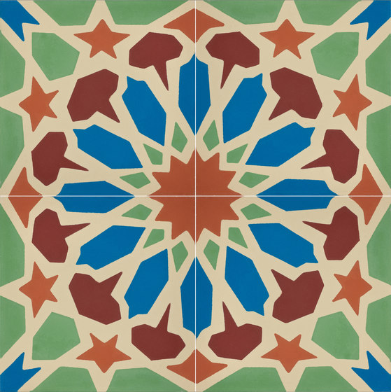 Alhambra - 50 A by Granada Tile | Concrete tiles
