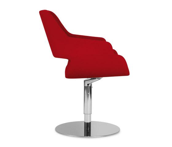 Rose round de Riccardo Rivoli Design | Sillas