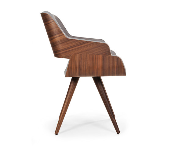 Rose uno + uno wood cone de Riccardo Rivoli Design | Sillas