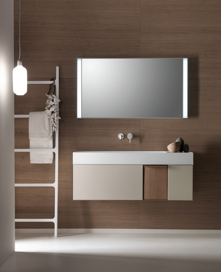 Quattro.Zero Vanity units by Falper | Vanity units