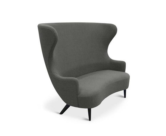 Wingback Sofa Black Leg Hallingdal 65 by Tom Dixon   Sofas