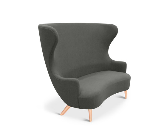 Wingback Sofa Copper Leg Hallingdal 65 de Tom Dixon | Sofás lounge