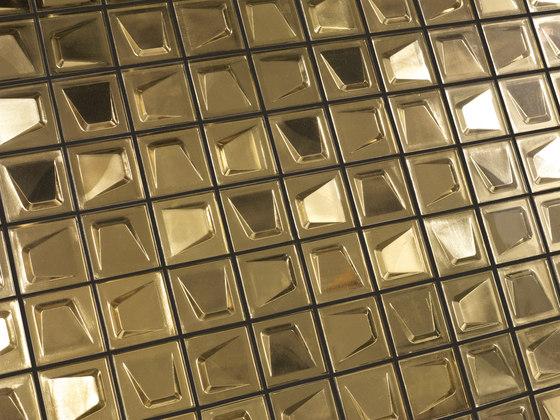 Michael R. Golden   Gilded di Dune Cerámica   Mosaici vetro