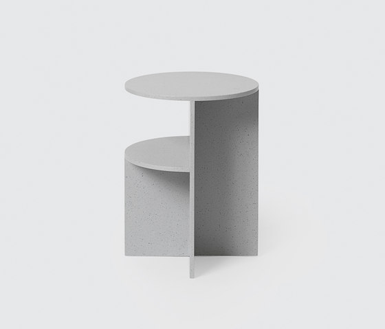 Halves Side Table de Muuto | Tables d'appoint