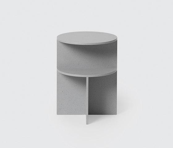 Halves Side Table de Muuto | Tables d'appoint