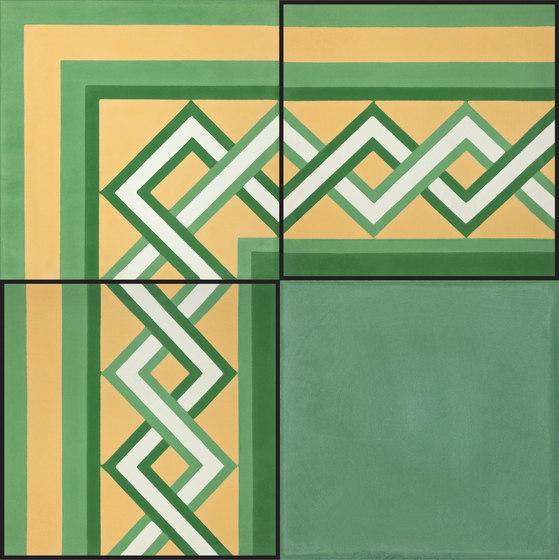 Bursa Border - 1061 A by Granada Tile   Concrete tiles