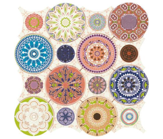 Dune Mosaics   Mandala di Dune Cerámica   Mosaici ceramica
