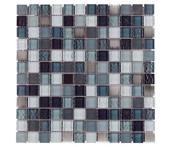 Venezia | Mirror Grey di Dune Cerámica | Mosaici pareti