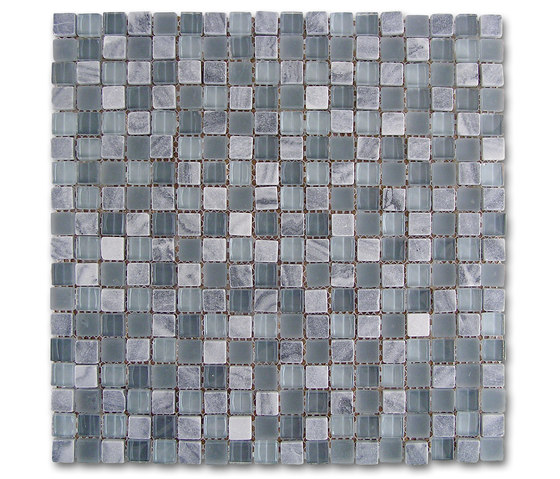 Venezia | Mosaico Grey-Glass by Dune Cerámica | Wall mosaics