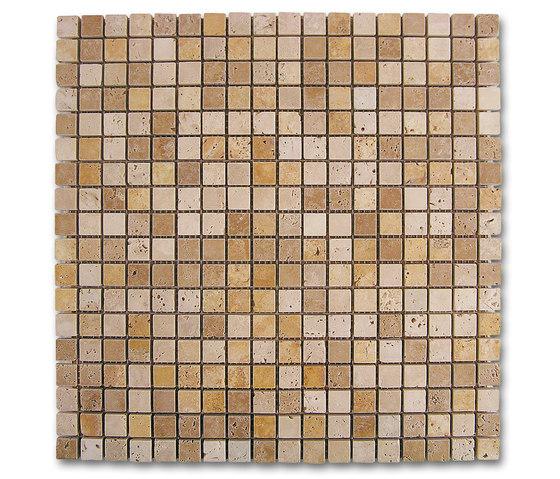 Venezia | Mosaico Travertino Dados by Dune Cerámica | Natural stone mosaics