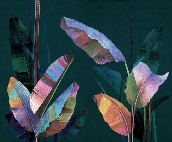 Feuilles by LONDONART | Wall coverings / wallpapers