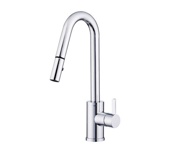 Amalfi™ | Single Handle Pull-Down Kitchen Faucet, 1.75gpm by Danze | Kitchen taps