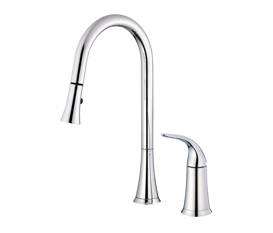 Antioch®   Single Handle Pull-Down Kitchen Faucet, 1.75gpm by Danze   Kitchen taps