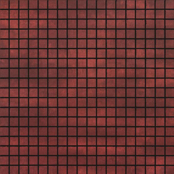 Krea Red | mosaic de Gigacer | Carrelage céramique