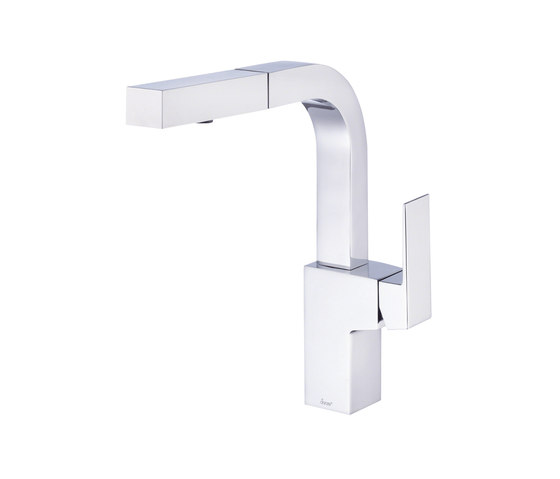 Mid-town®   Single Handle Pull-Out Kitchen Faucet, 1.75gpm by Danze   Kitchen taps