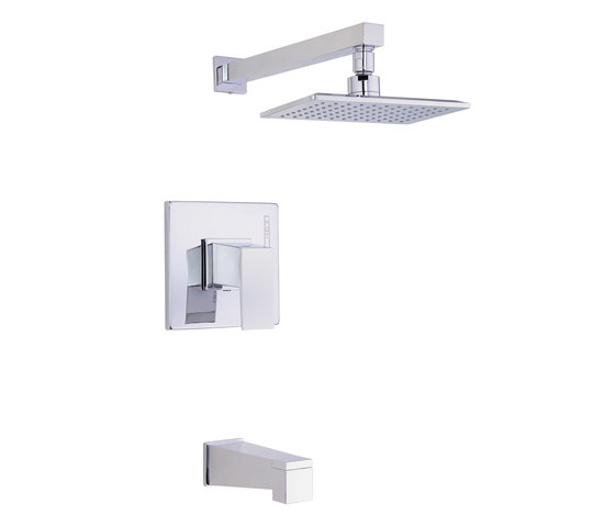 Mid-town® | Tub and Shower Trim Kit, 2.5gpm by Danze | Shower controls