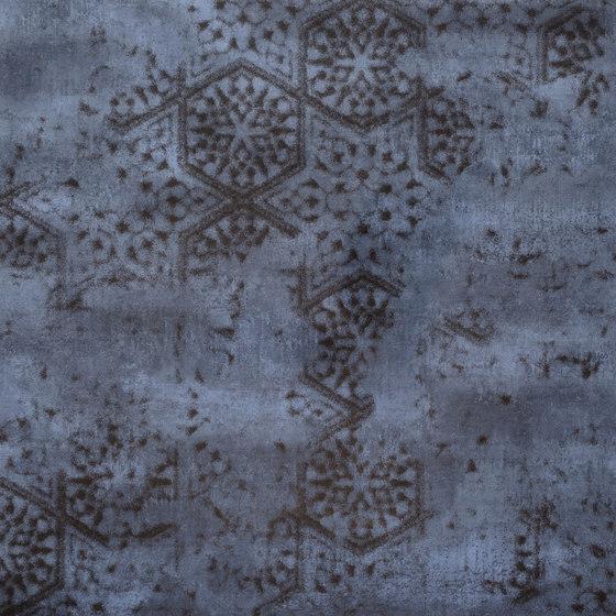 Krea Blue Decoro C by Gigacer | Ceramic tiles