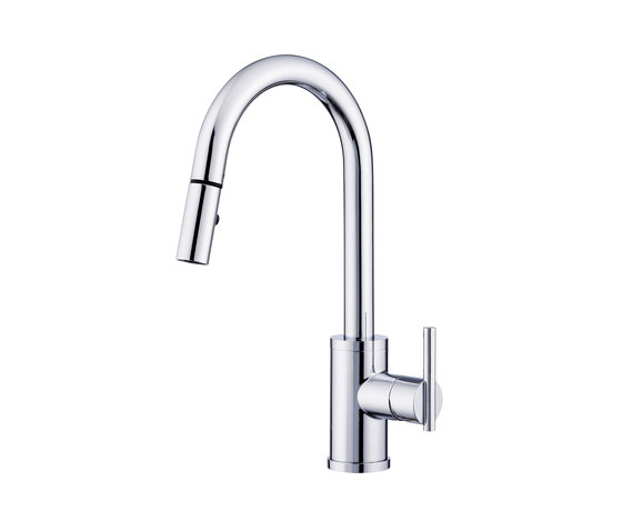 Parma® | Trim Line Single Handle Pull-Down Kitchen Faucet, 1.75gpm by Danze | Kitchen taps
