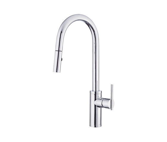 Parma® | Café Single Handle Pull-Down Kitchen Faucet, 1.75gpm by Danze | Kitchen taps
