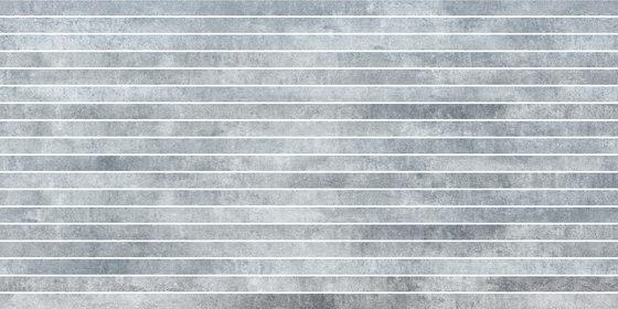Krea Snow | stripes by Gigacer | Ceramic tiles